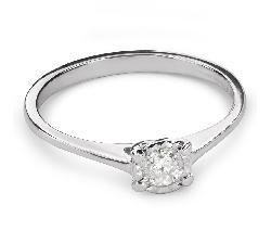 """Помолвочное кольцо с Бриллиантом """"Богиня 107"""""""