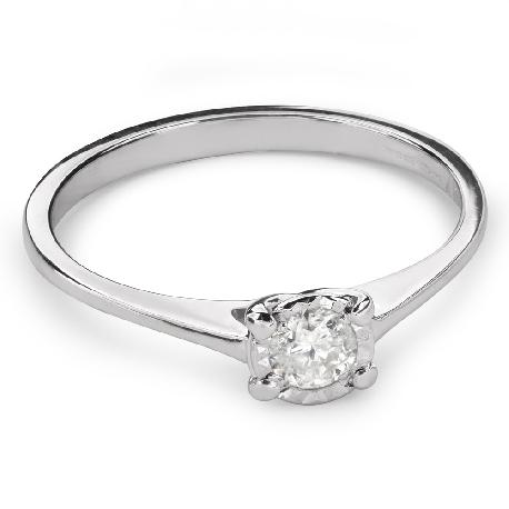 """Saderināšanās gredzens ar Briljantu """"Dieviete 107"""""""