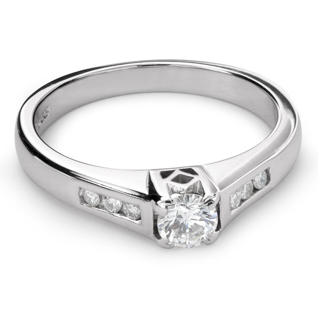 """Помолвочное кольцо с Бриллиантами """"Грациозность 111"""""""