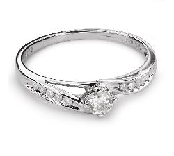 "Помолвочное кольцо с Бриллиантами ""Вихрь 28"""