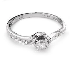 "Помолвочное кольцо с Бриллиантами ""Вихрь 29"""