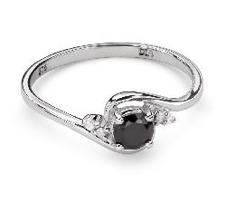 """Zelta gredzens ar dārgakmeņiem """"Safīrs 29"""""""