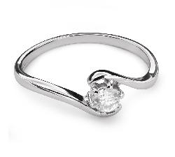 """Zelta gredzens ar Briljantu """"Mīlestības apskāvienos 38"""""""