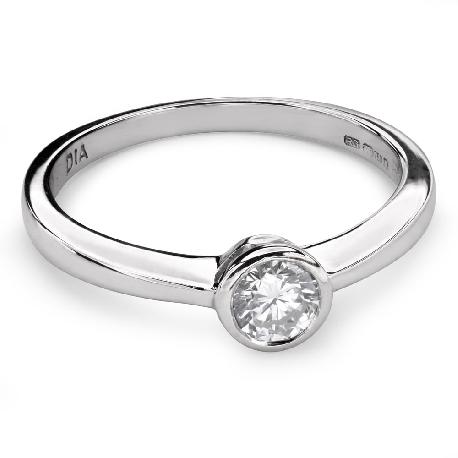 """Помолвочное кольцо с Бриллиантом """"Среди скал 23"""""""