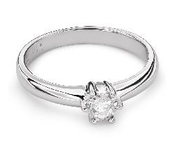 """Помолвочное кольцо с Бриллиантом """"Возлюбленный 105"""""""