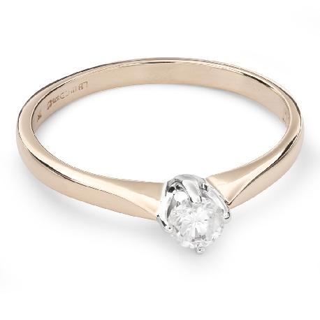 """Помолвочное кольцо с Бриллиантом """"Единственная 98"""""""