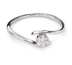 """Zelta gredzens ar briljantiem """"Mīlestības apskāvienos 39"""""""