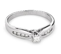"""Помолвочное кольцо с Бриллиантами """"Грациозность 112"""""""