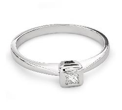 """Saderināšanās gredzens ar Dimantu """"Princese 73"""""""