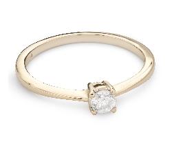 """Saderināšanās gredzens ar Dimantu """"Stiprums 99"""""""