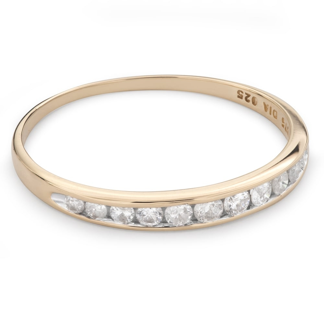 "Zelta gredzens ar Briljantiem ""Dimanta jostīte 49"""