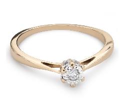 """Saderināšanās gredzens ar Dimantu """"Mīļais 111"""""""