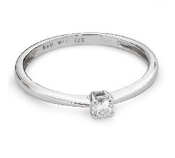 """Saderināšanās gredzens ar Briljantu """"Dieviete 114"""""""