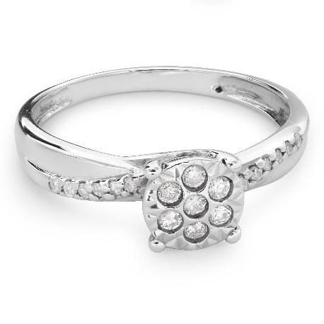 """Zelta gredzens ar Dimantiem """"Mīļais 115"""""""