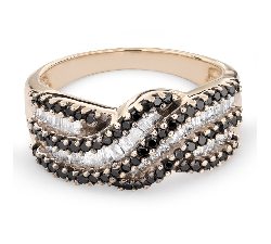 "Золотое кольцо с Aлмазами ""Краски 60"""
