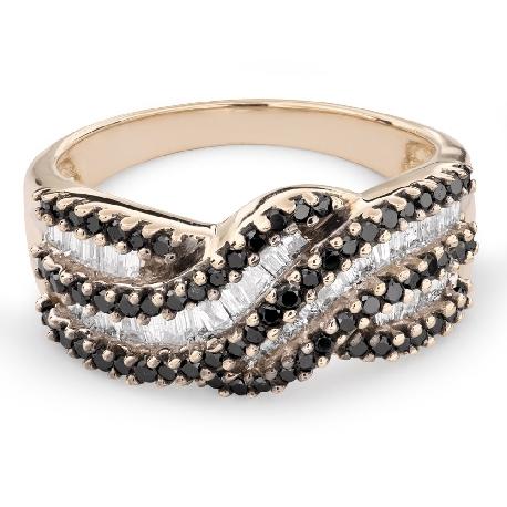 "Zelta gredzens ar Dimantiem ""Krāsas 60"""