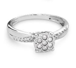 """Zelta gredzens ar Dimantiem """"Mīļais 117"""""""