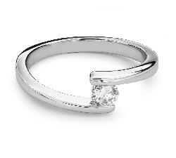 """Помолвочное кольцо с Бриллиантом """"Среди скал 26"""""""