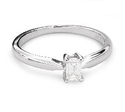 """Помолвочное кольцо с Aлмазом """"Прочность 101"""""""