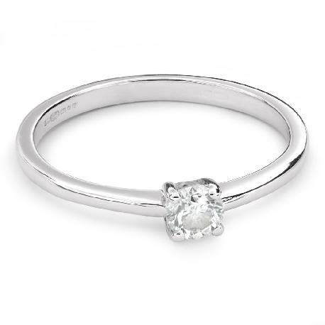 """Помолвочное кольцо с Бриллиантом """"Богиня 116"""""""