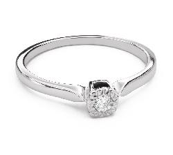 """Помолвочное кольцо с Aлмазом """"Прочность 103"""""""