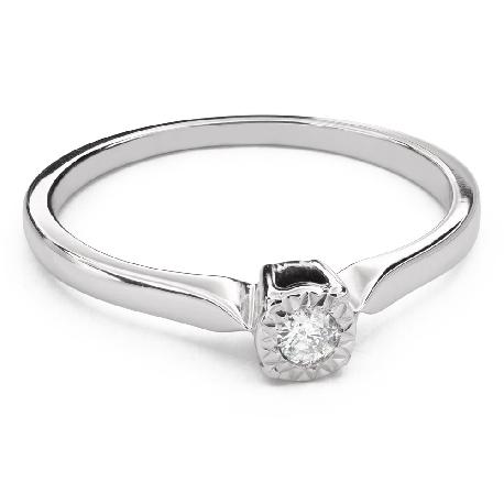 """Saderināšanās gredzens ar Dimantu """"Stiprums 103"""""""