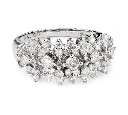"Золотое кольцо с Бриллиантами ""Корона 20"""
