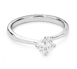 """Помолвочное кольцо с Бриллиантом """"Богиня 124"""""""