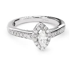 """Золотое кольцо с Aлмазами """"Корона 21"""""""