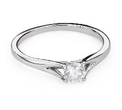 """Помолвочное кольцо с Бриллиантом """"Богиня 125"""""""