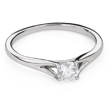 """Saderināšanās gredzens ar Briljantu """"Dieviete 125"""""""