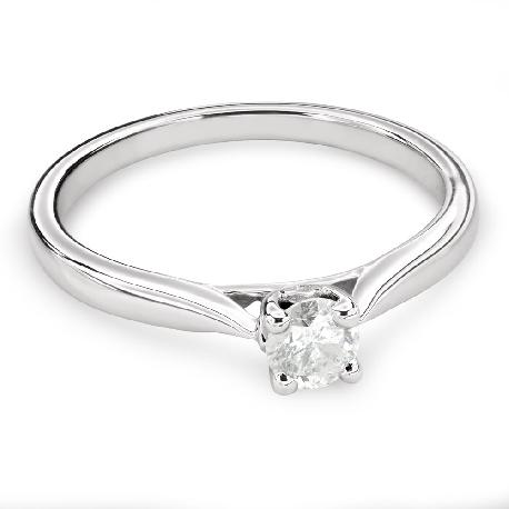 """Помолвочное кольцо с Бриллиантом """"Богиня 126"""""""