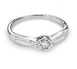 """Помолвочное кольцо с Бриллиантом """"Возлюбленный 121"""""""