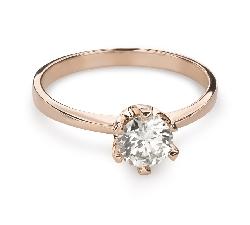 """Помолвочное кольцо с Бриллиантом """"Незабываемый 16"""""""