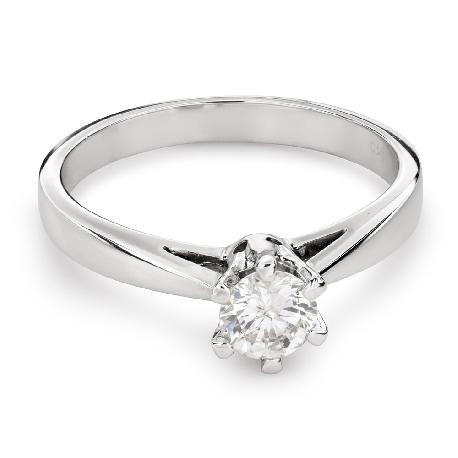 """Помолвочное кольцо с Бриллиантом """"Единственная 110"""""""