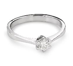 """Помолвочное кольцо с Бриллиантом """"Королева 35"""""""