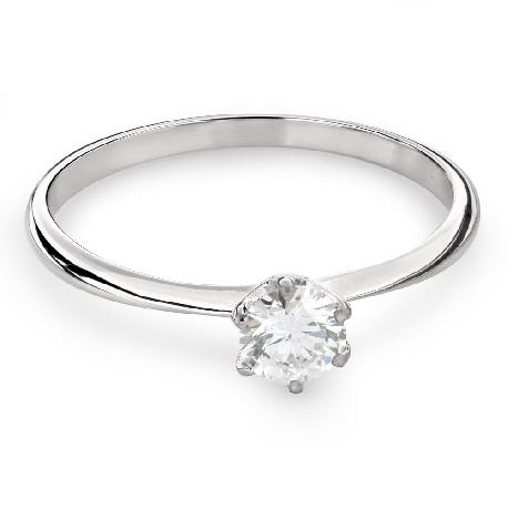 """Помолвочное кольцо с Бриллиантом """"Королева 36"""""""