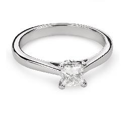 """Помолвочное кольцо с Aлмазом """"Принцесса 78"""""""