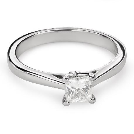 """Saderināšanās gredzens ar Dimantu """"Princese 78"""""""