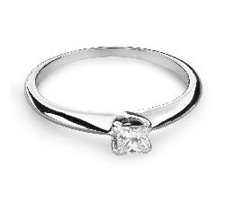 """Помолвочное кольцо с Aлмазом """"Принцесса 79"""""""