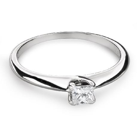 """Saderināšanās gredzens ar Dimantu """"Princese 79"""""""