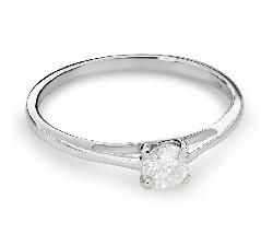 """Помолвочное кольцо с Бриллиантом """"Богиня 128"""""""
