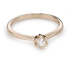 """Помолвочное кольцо с Aлмазом """"Королева 40"""""""
