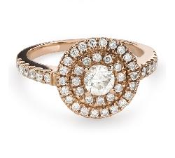 """Помолвочное кольцо с Бриллиантами """"Бриллиантовый букет 51"""""""