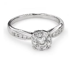 """Помолвочное кольцо с Бриллиантами """"Бриллиантовый букет 52"""""""