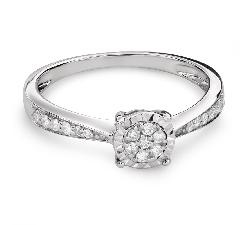 """Помолвочное кольцо с Бриллиантами """"Возлюбленный 126"""""""