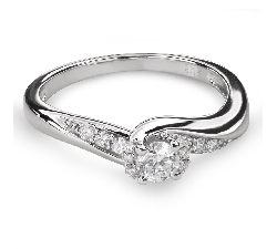 "Помолвочное кольцо с Бриллиантами ""Вихрь 37"""