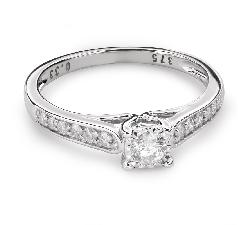 """Помолвочное кольцо с Бриллиантами """"Грациозность 123"""""""