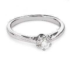 """Помолвочное кольцо с Бриллиантом """"Единственная 113"""""""