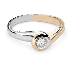 """Помолвочное кольцо с Бриллиантом """"Среди скал 31"""""""
